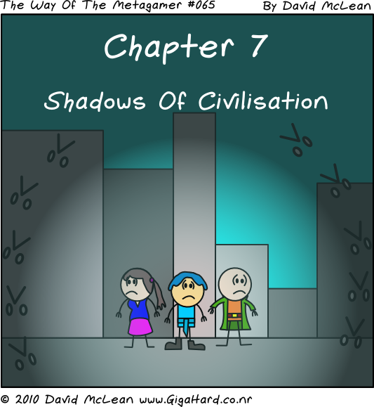 Shadows Of Civilisation - Title Page