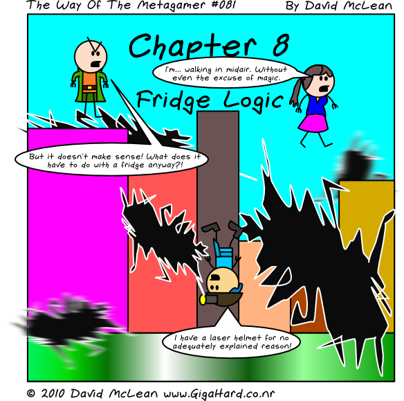 Fridge Logic - Title Page