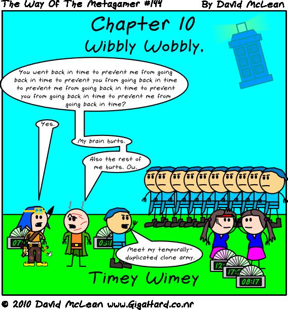 Wibbly Wobbly, Timey Wimey - Title Page